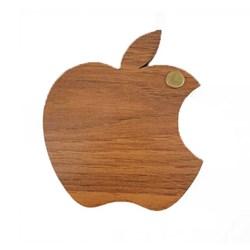 آینه جیبی چوبی طرح اپل