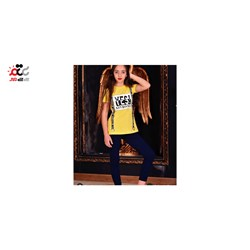 ست بلوز شلوار دخترانه مدل YES کد 625