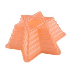 قالب ژله پلاستیکی طرح ستاره طبقاتی