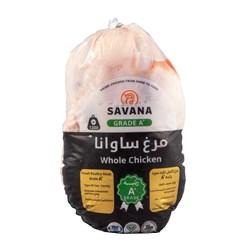 مرغ سبز بدون آنتی بیوتیک ساوانا 1300 گرمی