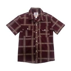 پیراهن پسرانه مدل چهارخونه کد 218