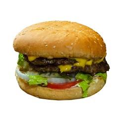 همبرگر خانگی 90% گوشت پنیری جلز ولز 360 گرمی