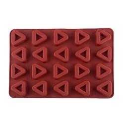 قالب ساوارین سیلیکونی طرح مثلث 20 عددی