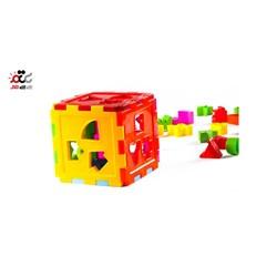 بازی آموزشی مدل مکعب اشکال کد 120