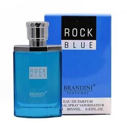 عطر جیبی مردانه برندینی مدل Rock Blue حجم 25 میلی لیتری