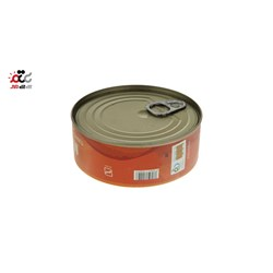 کنسرو تن ماهی با لوبیا چیتی در سس گوجه فرنگی محفل 230 گرمی