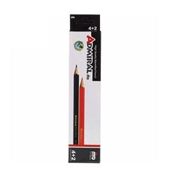 مداد ادمیرال بسته 6 عددی