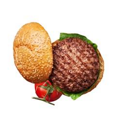 همبرگر خانگی 90% گوشت جلز ولز 360 گرمی