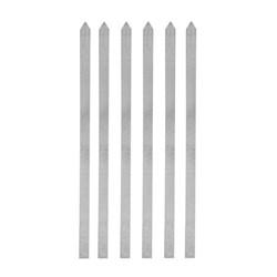 سیخ آلومینیوم کوبیده مدل بلند بسته 6 عددی