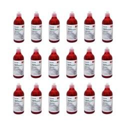 محلول ضد عفونی کننده دست هپی هوم قرمز 500 میلی لیتری بسته 15 عددی