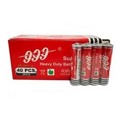 باتری نیم قلمی 999 مدل Heavy Duty بسته 4 عددی