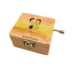 موزیک باکس کوچک آینه دار مدل mumu zakka