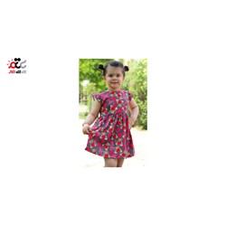 پیراهن عروسکی دخترانه مدل خرسی کد 620
