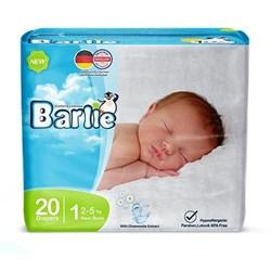پوشک کودک بارلی سایز 1 بسته 20 عددی