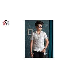 پیراهن پسرانه مدل چهارخونه کد 221