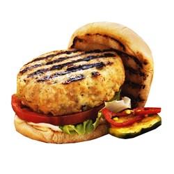 همبرگر خانگی 90% مرغ جلز ولز 360 گرمی