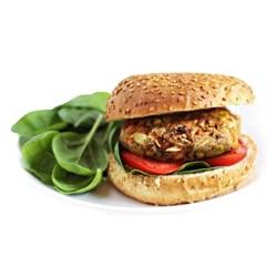 همبرگر خانگی 90% گوشت سبزیجات جلز ولز 360 گرمی