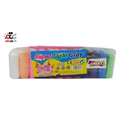 خمیربازی 12 رنگ LOCOLI پاکتی کد 3320