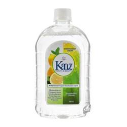مایع گند زدای معطر با رایحه لیمو کنز 500 میلی لیتری