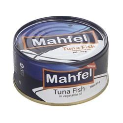 کنسرو تن ماهی در روغن گیاهی محفل 180 گرمی