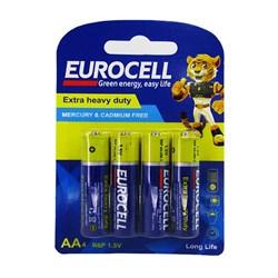 باتری قلمی یوروسل مدل اکسترا بسته 4 عددی