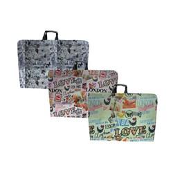 کیف طراحی پارچه ای لیام سایز 50*70 مدل 3002