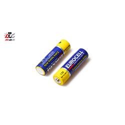 باتری نیم قلمی یوروسل مدل اکسترا بسته 4 عددی
