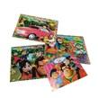 کتاب رنگ آمیزی شعر و داستان کودکان بسته 3 عددی