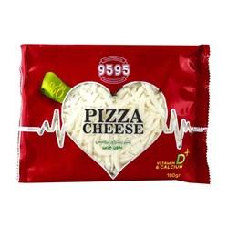 پنیر پیتزا رنده شده رژیمی 9595 بسته 180 گرمی