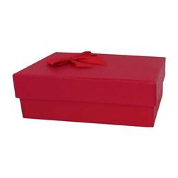 جعبه ادکلن مقوایی مستطیل مدل ربان قرمز سایز 1 کد 844