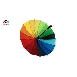 چتر مدل رنگین کمانی کد 80199