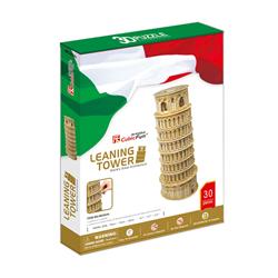 پازل سه بعدی 30 قطعه کوبیک فان مدل Leaning Tower کد MC053h