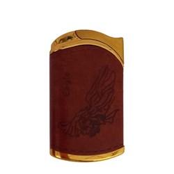 فندک اتمی چرمی لوکس طرح EAGLE کد 18
