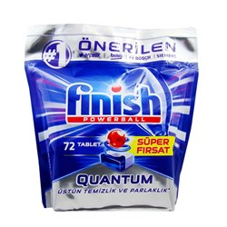 قرص ماشین ظرفشویی فینیش مدل کوانتوم 72 عددی