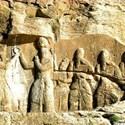 سنگ نگاره پادشاهی اردشیر بابکان استان فارس