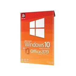 سیستم عامل ویندوز 10 به همراه نرم افزار آفیس 2019 جی بی تیم