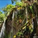 آبشار آب ملخ سمیرم استان اصفهان