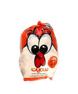 مرغ تازه سمین درجه دو 2000 گرمی