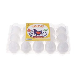 تخم مرغ غنی شده امگا 3 تلاونگ 15 عددی