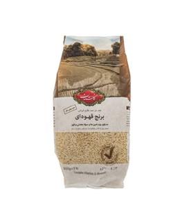 برنج قهوه ای سبوس دار گلستان 900 گرمی