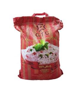 برنج دانه بلند هندی جی تی سی 10 کیلوگرمی