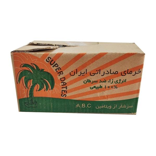 خرما صادراتی جعبه ای 2 کیلوگرمی