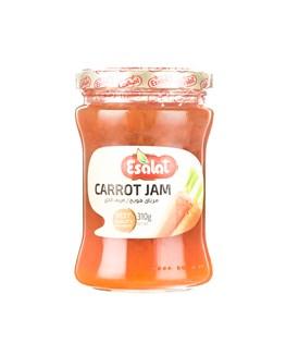 مربا هویج شیشه ای اصالت 310 گرمی