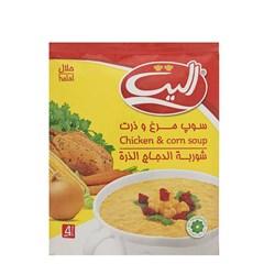 سوپ مرغ و ذرت الیت 65 گرمی