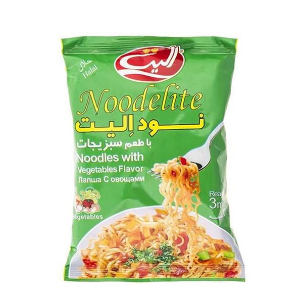 نودالیت با طعم سبزیجات الیت 75 گرمی