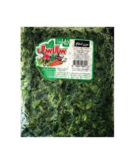 سبزی اسفناج منجمد سالاسال 400 گرمی