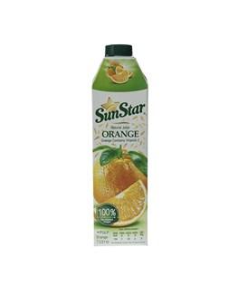 آب پرتقال پالپ دار سان استار 1000 میلی لیتری