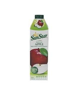 آبمیوه طبیعی سیب سان استار  1000 میلی لیتری