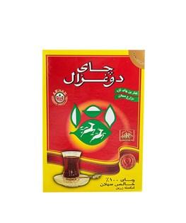 چای سیاه شکسته دوغزال 250 گرمی
