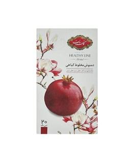 دمنوش مخلوط گیاهی کیسه ای انار گلستان 20 عددی